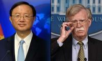 China y Estados Unidos acuerdan aumentar contactos y la cooperación bilateral