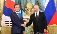 Presidentes de Corea del Norte y Rusia tratan temas de interés común