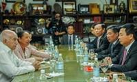 Vietnam y Cuba aumentan intercambio de experiencias en desarrollo nacional