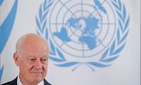 ONU pide reanudar proceso político en Siria antes de finales de 2018