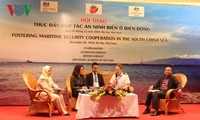 Llaman a promover la cooperación internacional para la seguridad del Mar Oriental