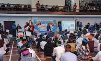 Celebran concurso de conocimiento para los alumnos vietnamitas en Rusia
