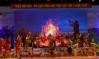 Promueven imagen de Kon Tum en su cuarta Semana Cultural-Turístico