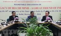 Recuerdan en India visita oficial del presidente Ho Chi Minh
