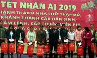 Promueven solidaridad con los afectados por los desastres naturales en vísperas del Año Nuevo Lunar