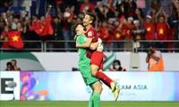 Prensa internacional resalta avance del fútbol vietnamita en Copa Asiática 2019