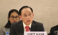 Vietnam comprometido a realizar la revisión de la ONU para garantizar los derechos humanos