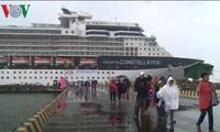 Provincia centrovietnamita recibe crucero de lujo con 2000 viajeros internacionales