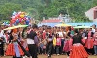 Los Mong festejan el Tet tradicional