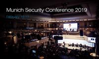 Conferencia de Múnich 2019 aborda temas candentes de seguridad mundial