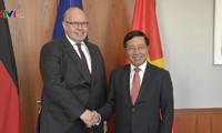 Vietnam y Alemania afianzan la colaboración multisectorial