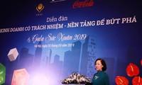 Llaman a la responsabilidad social de las empresarias vietnamitas