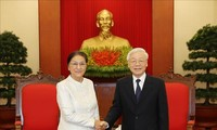 Reiteran dirigentes de Vietnam y Laos la voluntad de estrechar los tradicionales lazos
