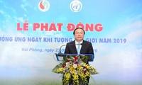 Sector meteorológico vietnamita contribuye a la lucha y prevención de los desastres naturales en el mundo