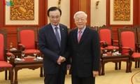 Presidente vietnamita se reúne con político surcoreano