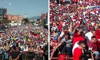 Seguidores y opositores del presidente Nicolás Maduro marchan en varias ciudades de Venezuela