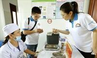 Ha Tinh celebra una marcha con motivo de la Semana de Vacunación de Vietnam