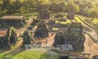 Expertos vietnamitas e indios restauran parte del Santuario de My Son