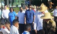 Inauguran líderes cubanos escuela especial Amistad Cuba-Vietnam