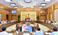 Concluye 34 reunión del Comité Permanente del Parlamento de Vietnam