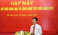 Científicos vietnamitas relevantes intercambian sobre el desarrollo del sector