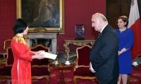Vietnam ratifica alta estima al fomento de relaciones con Malta