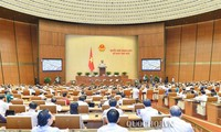 Diputados vietnamitas trazan programa supervisor del parlamento en 2020
