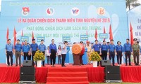 Jóvenes comunistas vietnamitas trabajan por el bienestar de la comunidad