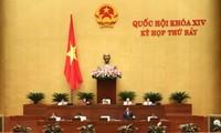 Dirigentes vietnamitas rinden cuentas sobre temas a su cargo ante el Parlamento