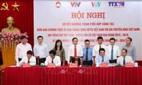 Promueven la cooperación entre el Frente de la Patria de Vietnam y los prestigiosos medios de comunicación