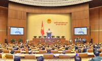 Séptimo período de sesiones parlamentarias ajusta las líneas del Partido Comunista