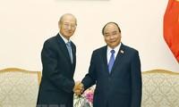 Premier vietnamita recibe al presidente de la corporación singapurense CapitalLand
