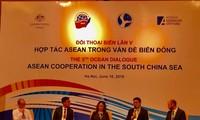 Asean fomenta cooperación en la solución de disputas en mar