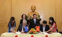 Vietnam y Australia interesados en cooperar en capacitación a funcionarios públicos
