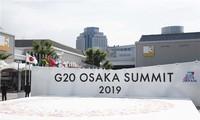 Inauguran Cumbre del G20 en Japón