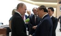 Primer ministro vietnamita se reúne con líderes mundiales al margen del G20