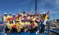 """Concursantes de """"Canto de Asean+3"""" viajan a la Bahía de Ha Long"""