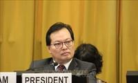 Vietnam exhorta a terminar carrera armamentista y fomentar desarme nuclear