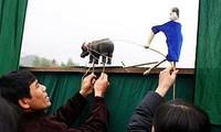 Arte de marionetas de la etnia Tay