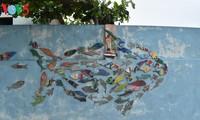 Độc đáo làng chài bích họa đầu tiên ở Việt Nam