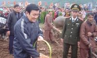 ท่าน Truong Tan Sang ประธานแห่งรัฐเวียดนามเข้าร่วมพิธี Tich Dien Doi Son ปี2012