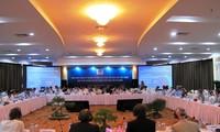 เปิดการประชุมกึ่งวาระกลุ่มนักอุปถัมภ์ให้แก่เวียดนาม ณ จังหวัดกวางตรี