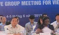 ปิดการประชุมกึ่งวาระนักอุปถัมภ์ให้แก่เวียดนาม 2012