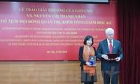 นักวิทยาศาสตร์หญิงเวียดนามคนแรกรับรางวัลของสถาบัน IASSและรางวัล Vernadski