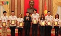 ประเทศชาติให้การต้อนรับเยาวชนเวียดนามที่อาศัยในต่างประเทศ