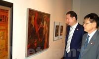 งานนิทรรศการภาพลงรักขัดเงาเวียดนาม ณ ประเทศสาธารณรัฐเกาหลี