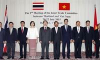 เวียดนามและไทยตั้งเป้าหมายเพิ่มมูลค่าการค้าระหว่างสองประเทศ