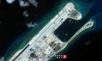 ประชามติโลกประท้วงจีนที่ทดสอบเส้นทางบินที่ก่อสร้างในหมู่เกาะเจื่องซาอย่างผิดกฎหมาย