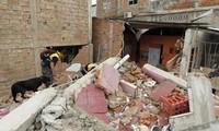 ประธานาธิบดีเอกวาดอร์ลงพื้นที่ตรวจสอบบริเวณที่ได้รับผลกระทบจากเหตุแผ่นดินไหว