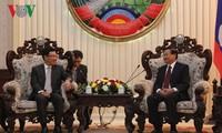 ภารกิจของนายฝามบิ่งมิงห์ รองนายกรัฐมนตรีและรัฐมนตรีว่าการกระทรวงการต่างประเทศเวียดนามในประเทศลาว